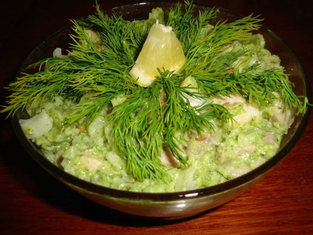 Салат из мяса с брокколи - приготовление, шаг 5