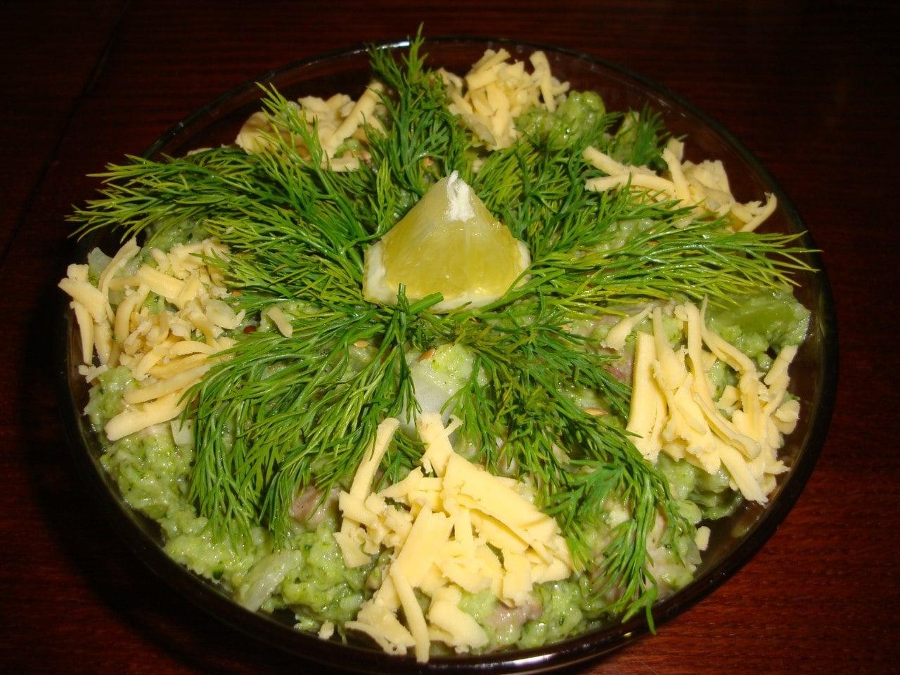 Салат из мяса с брокколи - приготовление, шаг 6