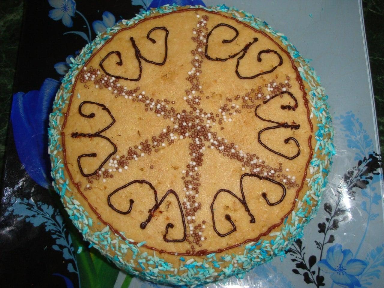 Торт из печенья - приготовление, шаг 7