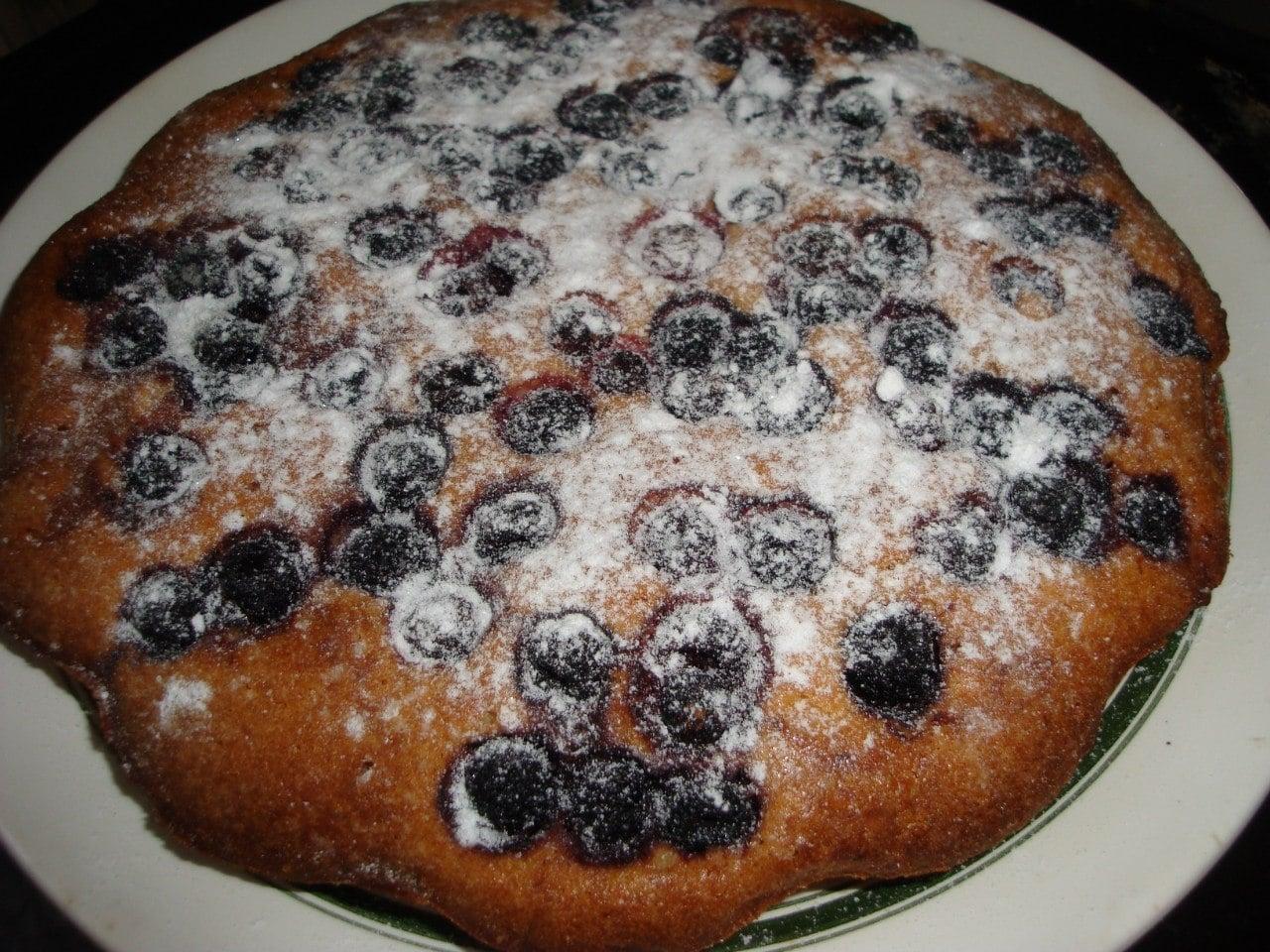 Пирог с ежевикой - приготовление, шаг 4