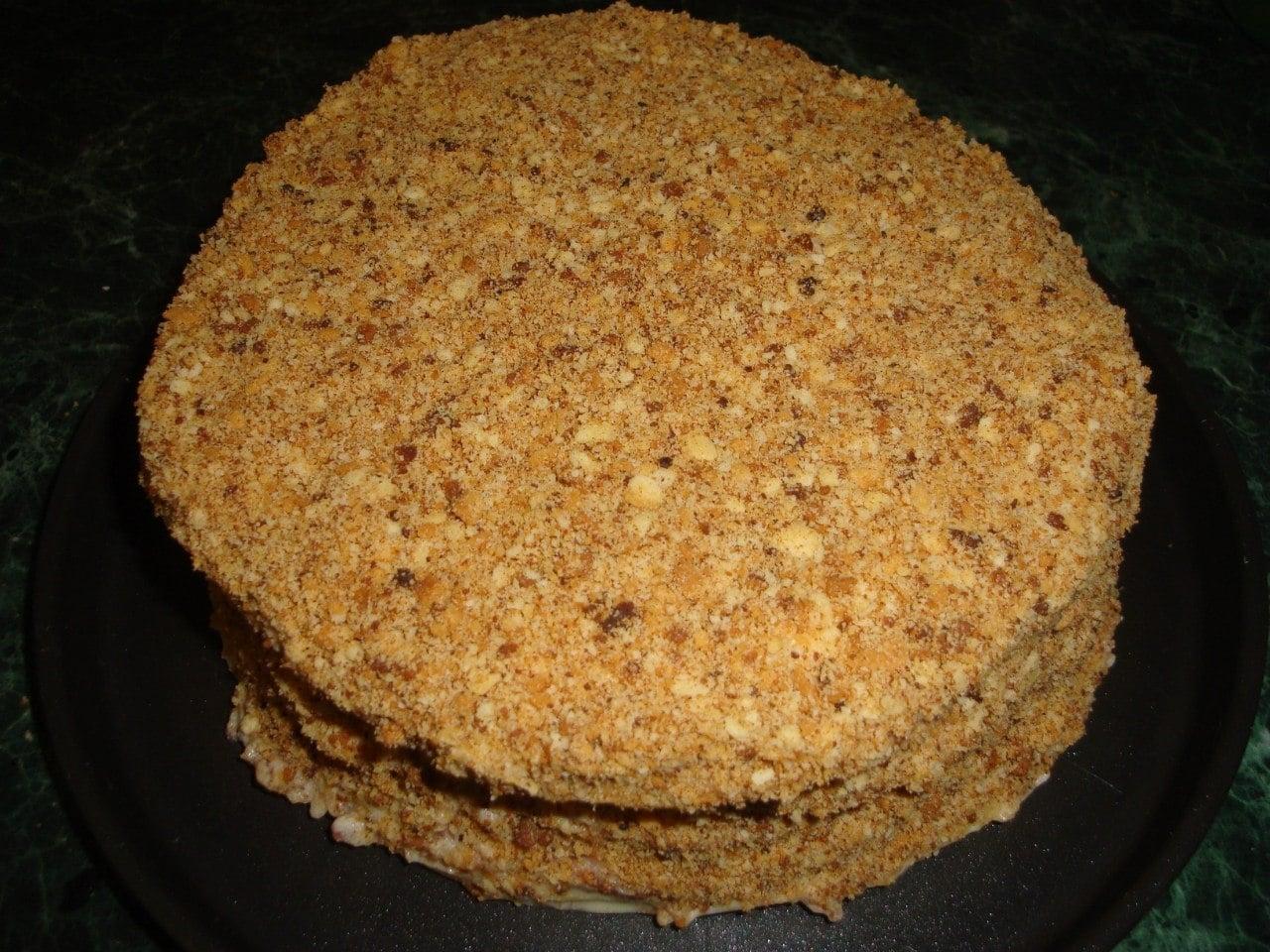 Торт Наполеон - приготовление, шаг 24