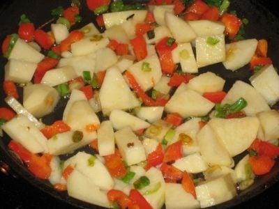Американский овощной суп - приготовление, шаг 1