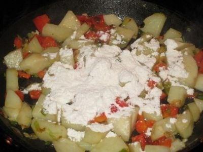 Американский овощной суп - приготовление, шаг 2