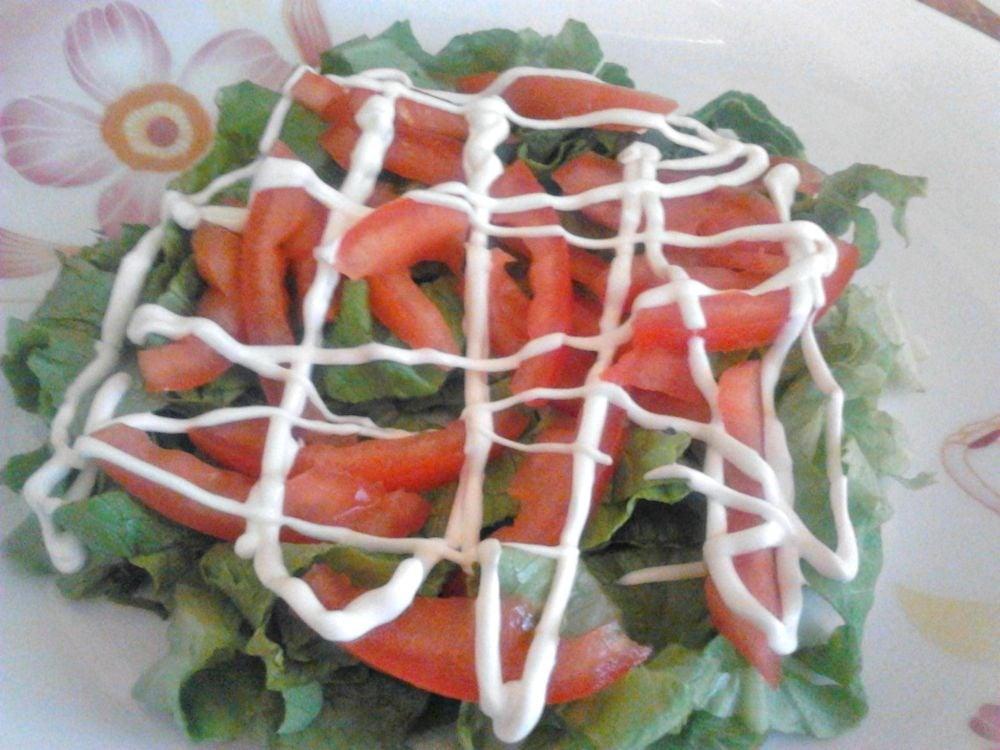 Салат с салями и овощами - приготовление, шаг 1