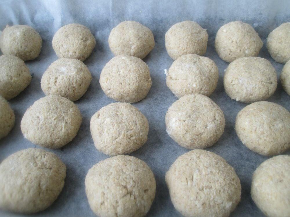 Овсяное печенье с творожно-кокосовой начинкой - приготовление, шаг 6