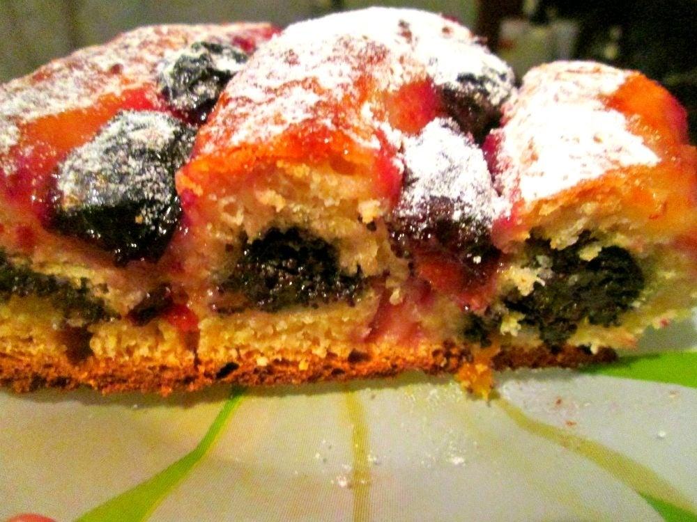 Сдобный пирог с маком и сливами - приготовление, шаг 5