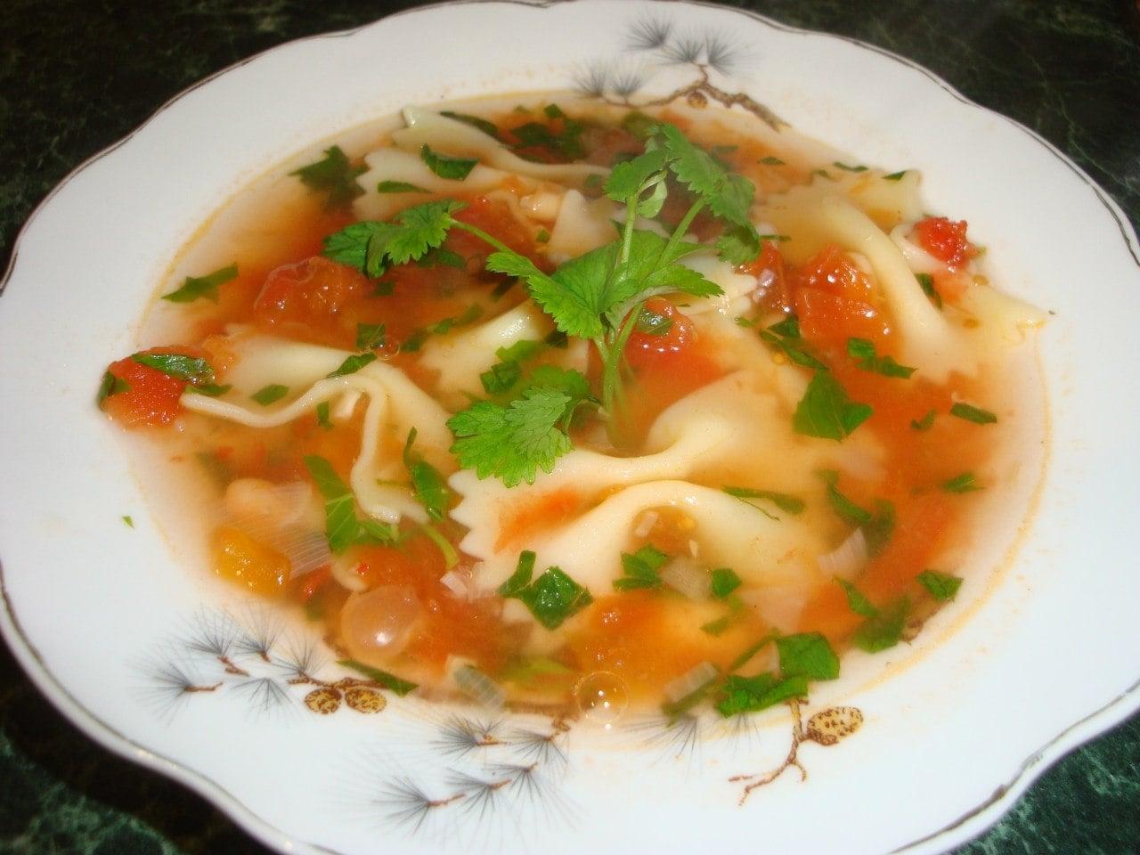 Итальянский овощной  суп - приготовление, шаг 12