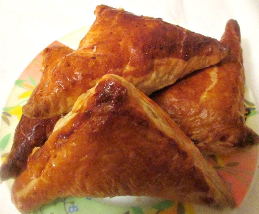 Закусочные пирожки с курицей и сыром - приготовление, шаг 5