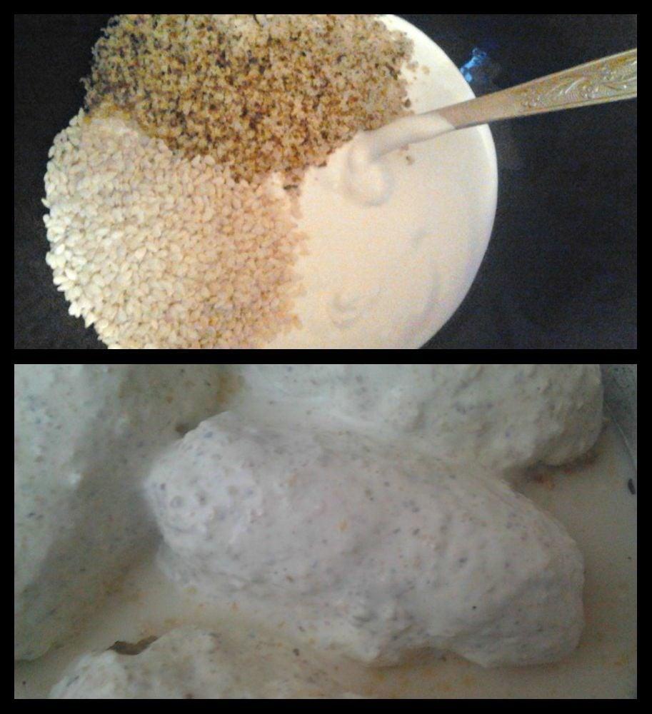 Мясные рулеты под сметанно-ореховым соусом. - приготовление, шаг 4