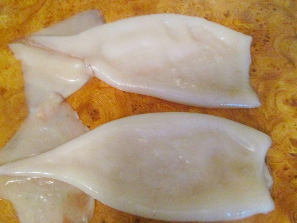 Фаршированные кальмары - приготовление, шаг 1