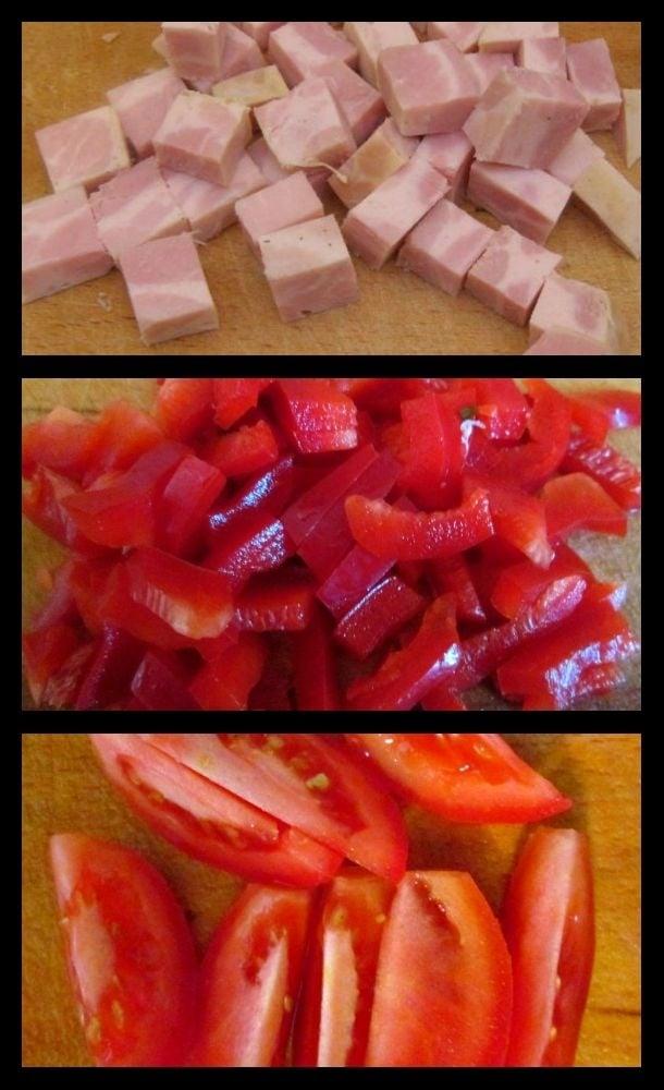 Салат с ветчиной, кукурузой и креветками  - приготовление, шаг 1