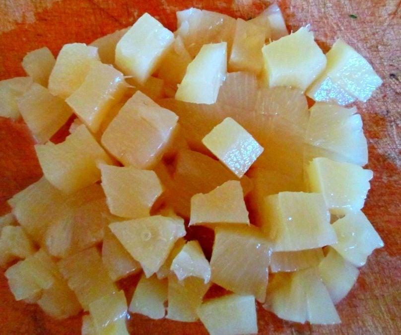 Салат с ананасом и креветкми - приготовление, шаг 4
