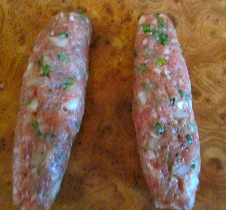Люля - кебаб в духовке - приготовление, шаг 2