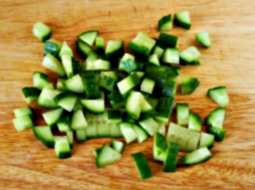Салат- коктейль с креветками - приготовление, шаг 4