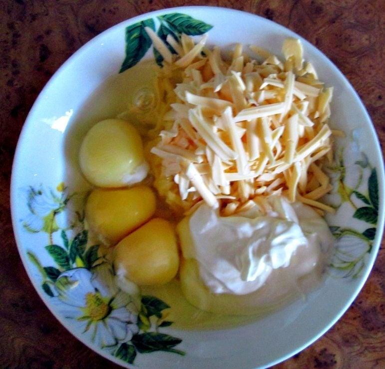 Мясной пирог с грибами из лаваша - приготовление, шаг 3