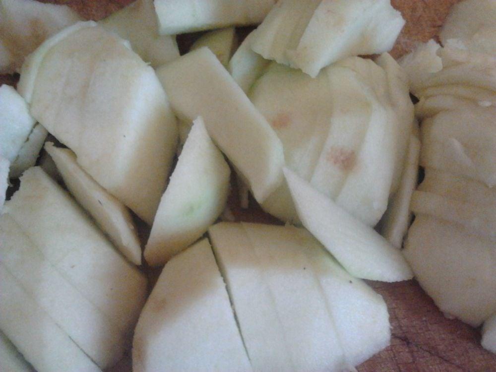 Телячьи ребрышки тушенные в яблочном соусе - приготовление, шаг 2