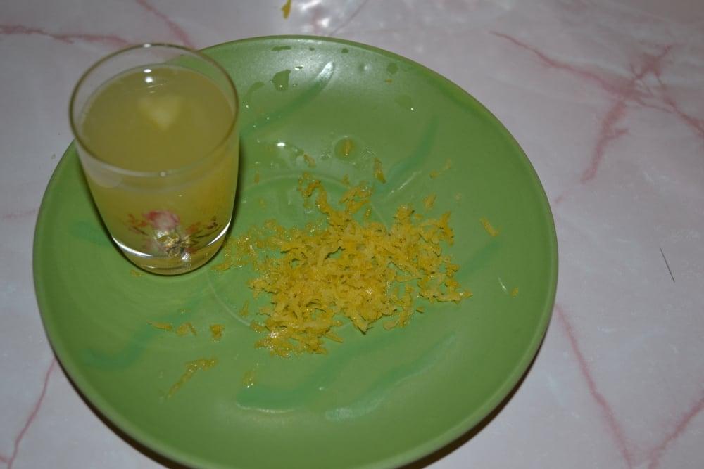 Лимонные мини-маффины - приготовление, шаг 1
