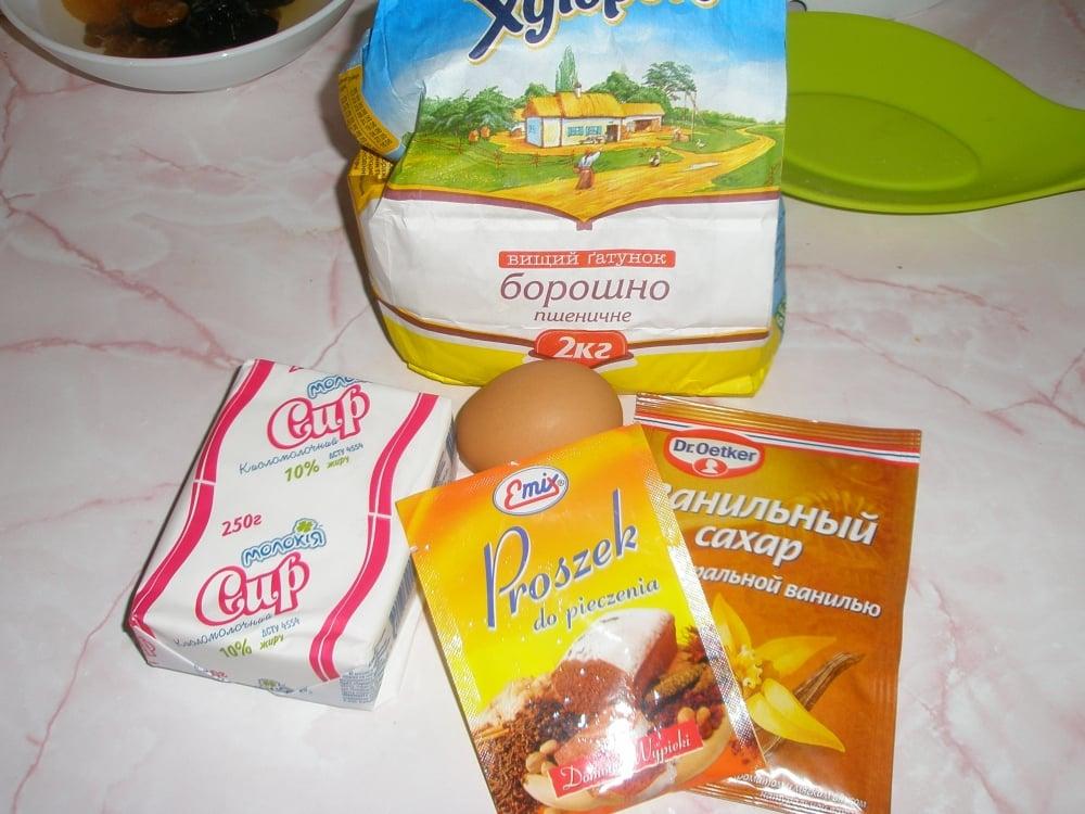 Быстрые творожно-фруктовые пончики - приготовление, шаг 2