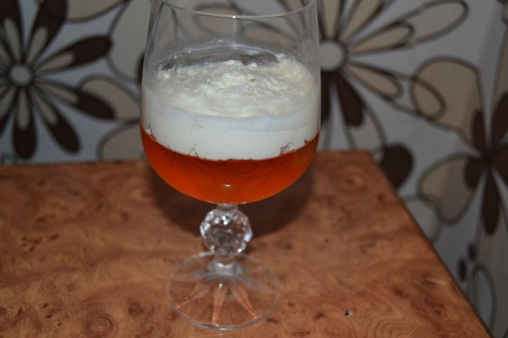 Клубнично-апельсиновый десерт - приготовление, шаг 3