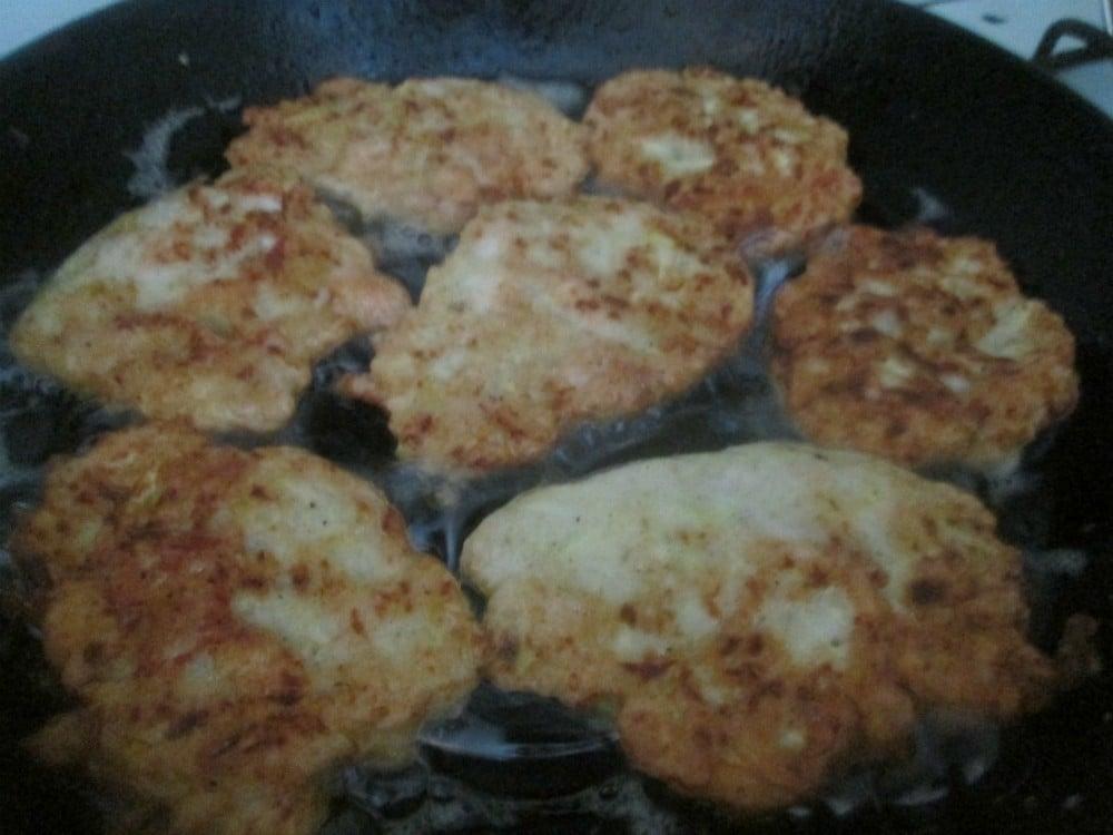 Кабачково-куриные оладья - приготовление, шаг 4