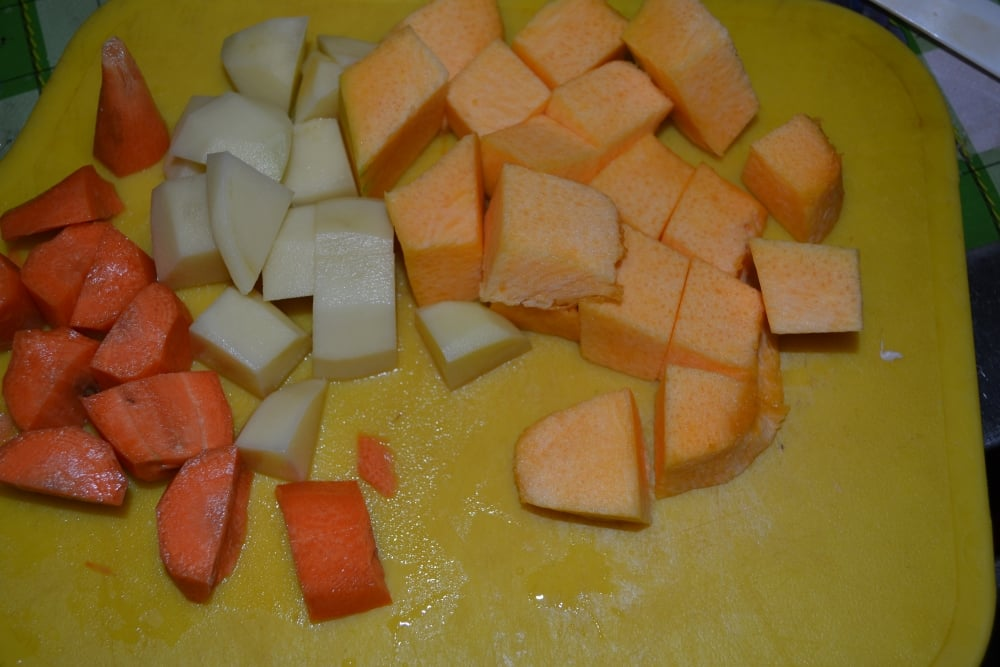 Тыквенный суп-пюре - приготовление, шаг 2