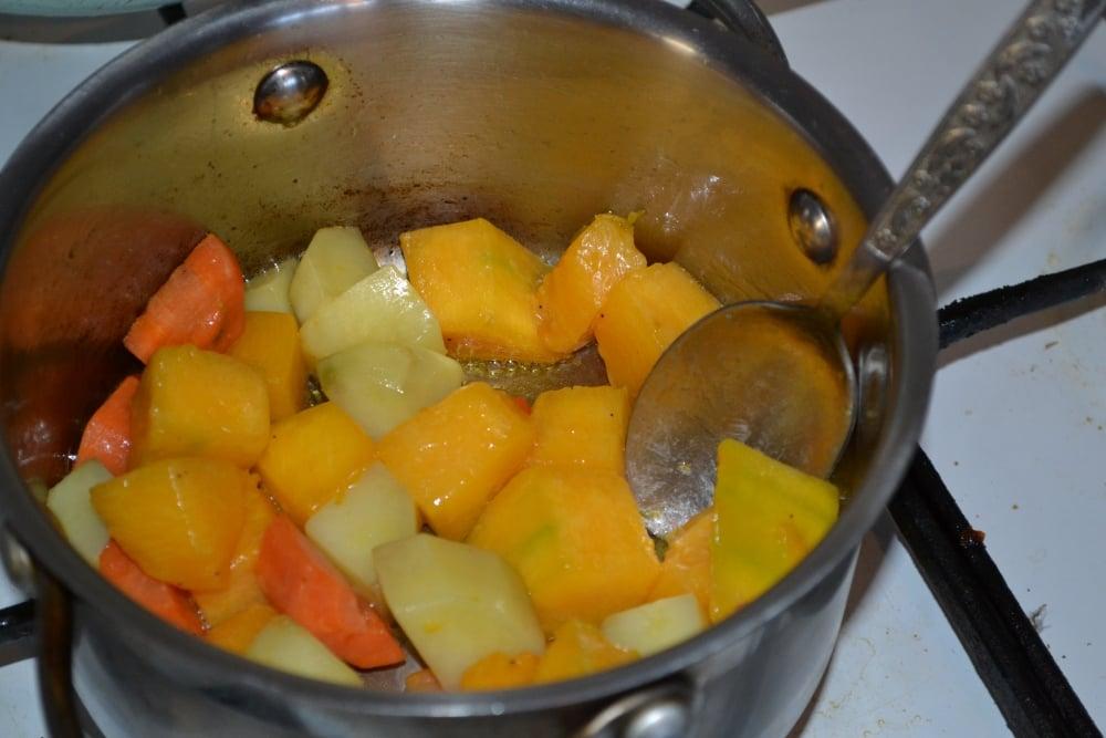 Тыквенный суп-пюре - приготовление, шаг 3