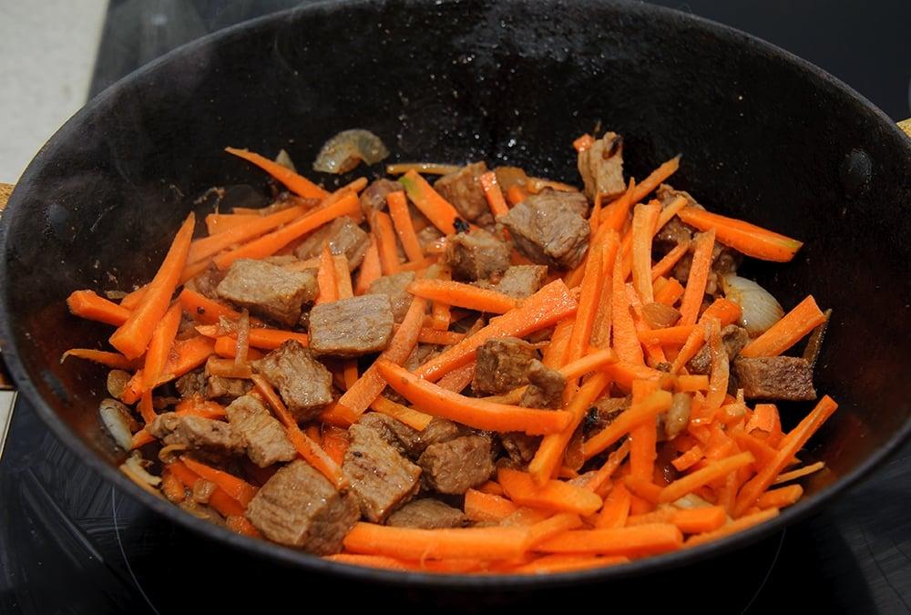 Плов с говядиной - приготовление, шаг 7
