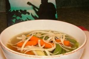 Азиатский овощной суп