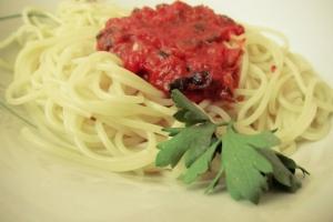 Итальянский томатный соус к спагетти