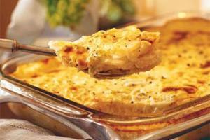 Гратен - блюдо с золотистой корочкой