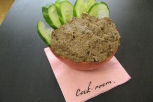 Бутербродная паста из чечевицы