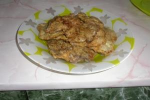 Жареная куриная печень