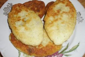 Картофельные зразы с грибами или с мясом