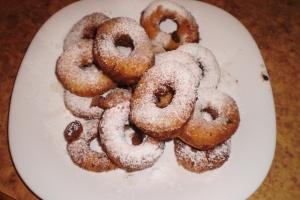 Сырние пончики