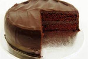 Шоколадный торт с нутеллой
