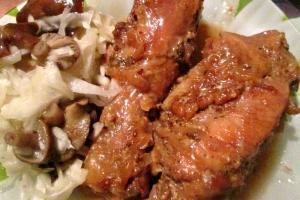 Сливочно-соевая курица
