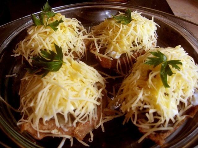 Вкусное блюдо в духовке из картошки