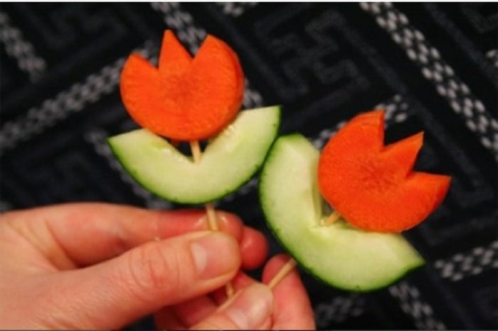 Как сделать украшения для салатов своими руками