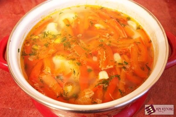 Как сварить суп из мяса и капусты