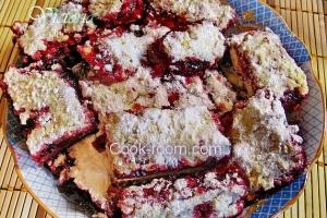 Тертый пирог с клюквой рецепт